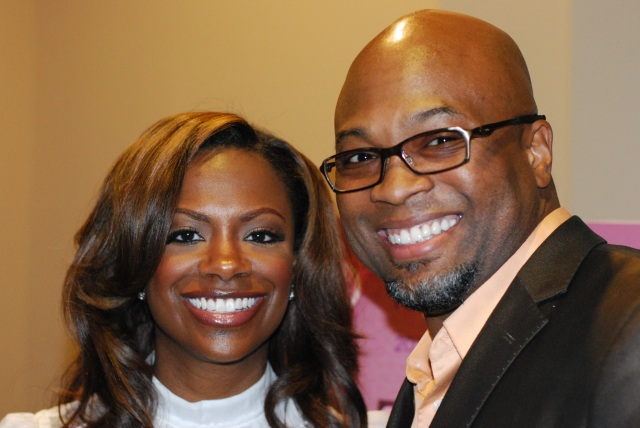 Kandi Burruss and Ken Ford at Female Success Factor